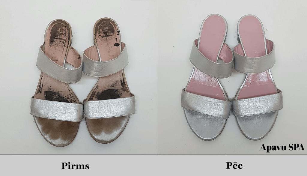 Iekšzoles maiņa un pārkrāsošana